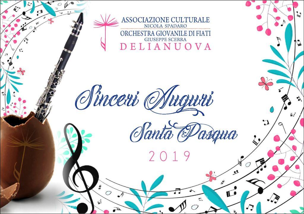 """L'Associazione-Culturale-""""Nicola-Spadaro""""-e-l'Orchestra-giovanile-di-Fiati-""""Giuseppe-Scerra""""-augurano-a-tutti-Buona-Pasqua"""